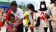 PON XX, BNPB Sediakan Gerai Masker di Stadion Barnabas Youwe