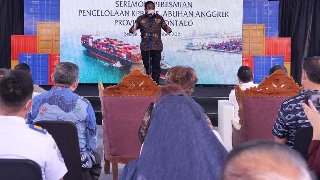 Wakil Ketua DPR RI Rachmat Gobel yakin Pelabuhan Anggrek akan menjadi lokomotif penggerak kemajuan masyarakat Gorontalo.