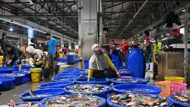 FOTO: Geliat Pasar Ikan Modern Muara Baru Saat Pandemi
