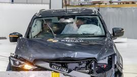 Uji Tabrak Australia NCAP Isuzu Mu-X Raih 5 Bintang