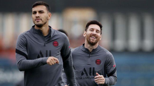 Lionel Messi resmi masuk skuad PSG untuk melawan Manchester City pada lanjutan Grup A Liga Champions di Parc des Princes, Rabu (29/9) dini hari WIB.