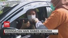 VIDEO: Peringatan Hari Rabies Sumatera Utara