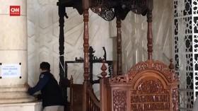 VIDEO: Pelaku Pembakar Mimbar Masjid Makassar Positif Narkoba