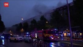 VIDEO: Detik-detik Usai Ledakan di Swedia