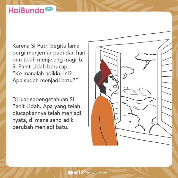 Cerita Nusantara Batu Puteri
