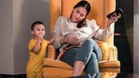 <p>Sebentar lagi, putra pertama Baim Wong dan Paula Vanhoeven, yakni Kiano Tiger Wong akan menjadi kakak, Bunda. (Foto: Instagram @paula_verhoeven)</p>