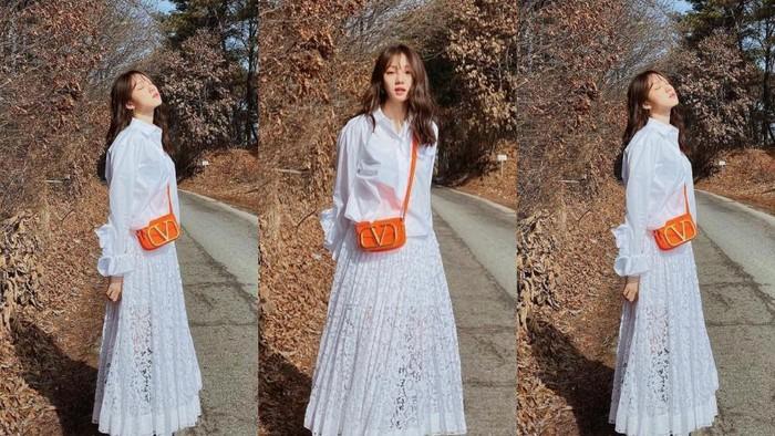 Tampil Stylish dengan Busana Lace ala Seleb Korea, Ada Idola Favoritmu Nggak Nih?