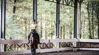 <p>Nabila Syakieb merupakan salah satu artis yang gemar menggeluti hobi berkuda. Di balik penampilannya yang feminin, Nabila sangat tangguh dalam berkuda. (Foto: Instagram @nsyakieb85)</p>