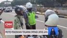 VIDEO: Protes Pengendara Terjaring Operasi Lintas Jaya
