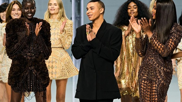 5 Fakta Menarik Fashion Show Balmain di Paris Fashion Week yang Heboh Banget, Ada 'Kejutan' dari Beyonce!