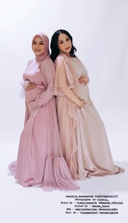 Pemotretan 4 Bumil Cantik Pamer Baby Bump, Perut Lesti Kejora Disorot