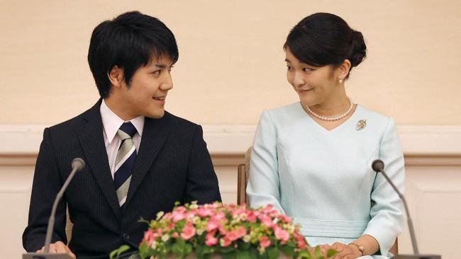 Putri Jepang Mako Tetap Menikah Meski Ditentang Publik