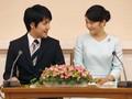 Putri Jepang Mako Resmi Menikah, Copot Gelar Kerajaan