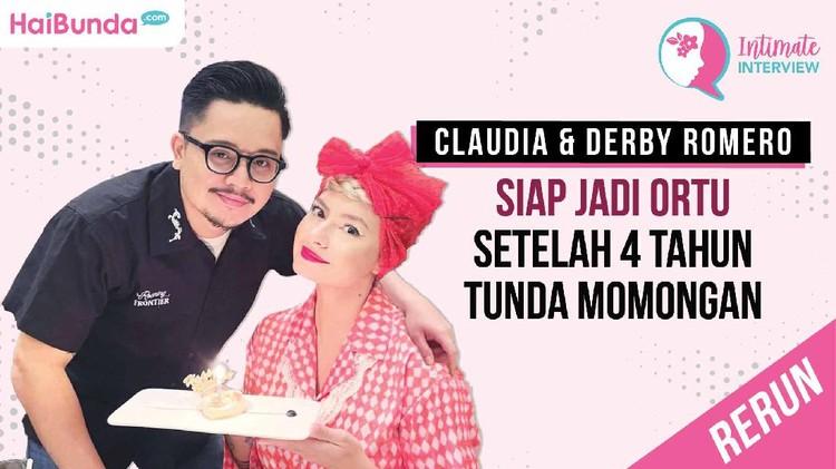 Rerun Intimate Interview Claudia Adinda dan Derby Romero