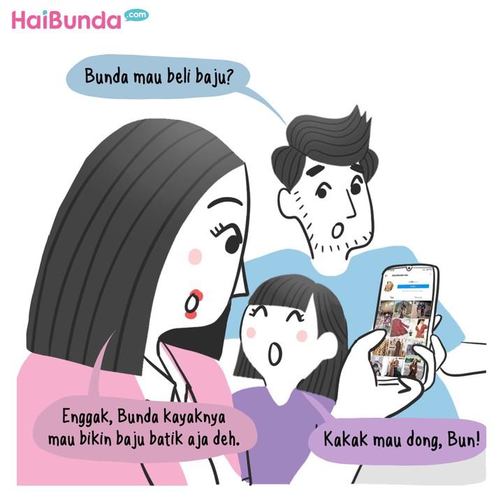 Komik Batik Cantik dari Bunda