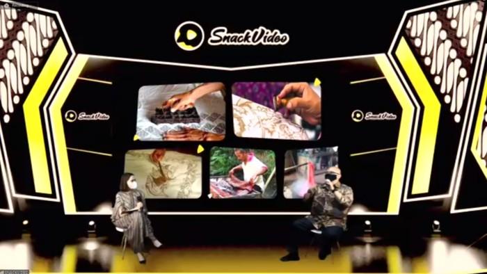 Mencari Duta Batik, SnackVideo Adakan Pelatihan Tentang Cara Membuat Konten Digital yang Edukatif dan Fun