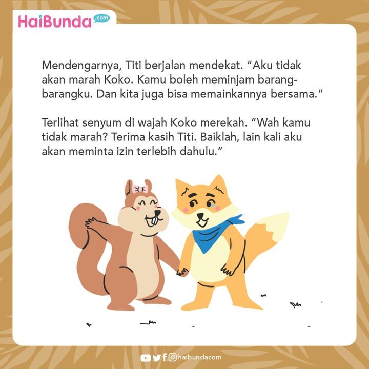 Cerita Nusantara Kotak Istimewa Titi Tupai