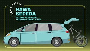 INFOGRAFIS: Cara Aman Bawa Sepeda di Kabin Mobil
