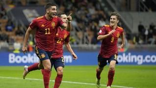 Prediksi Susunan Pemain Spanyol vs Prancis