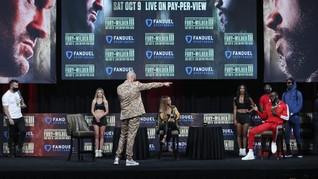 Fury vs Wilder Sepi, Promotor Salahkan Presiden AS