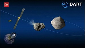 VIDEO: Cara NASA Tabrak Astreroid Pakai Roket