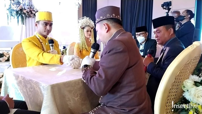 Lutfi Agizal Resmi Nikahi Nadya Indriyani