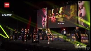 VIDEO: Momen Timbang Badan Fury vs Wilder