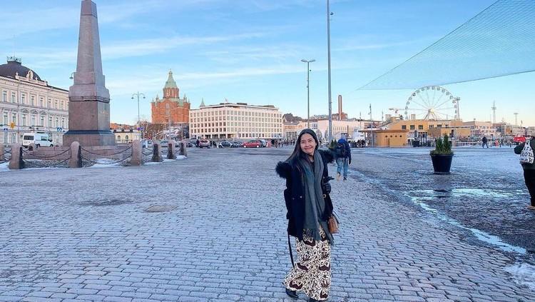 Chimy, Wanita RI di Finlandia