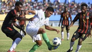 Final Sepak Bola PON Papua: Ujung Timur vs Ujung Barat
