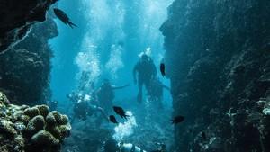Penampakan Letusan Bawah Laut Terbesar di Dunia