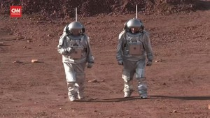 VIDEO: Simulasi Astronaut ke Mars di Gurun Israel