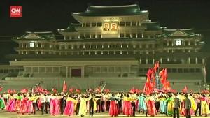 VIDEO: Korut Rayakan 76 Tahun Berdirinya Partai Pekerja Korea