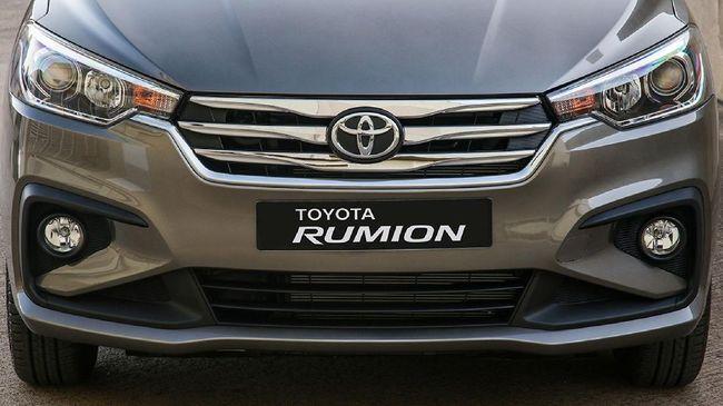 Toyota menjual mobil kembar Suzuki Ertiga bernama Rumion di Afrika Selatan.