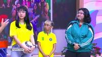 <p>Beberapa orang pemain bahkan sudah bertransformasi dan memberi kesan yang lebih dewasa, lho. Mereka adalah Nona, Omo, dan Amanda Pradisya atau Adis. (Foto: YouTube TRANS TV Official)</p>