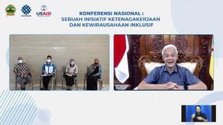 Pemprov Jateng dan USAID Kembangkan Ketenagakerjaan Inklusif