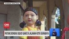 VIDEO: Warga Heboh Ada Patung Boneka Film Squid Game