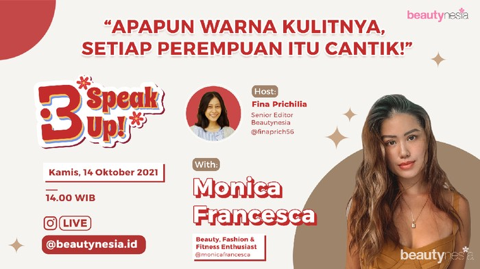 Bicara Soal Warna Kulit, B-Speak Up! 14 Oktober Mendatang Makin Seru