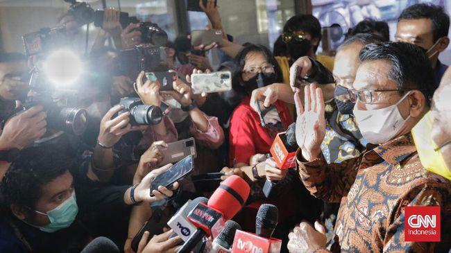 KSP Jenderal TNI (Purn) Moeldoko mengaku dirinya warga yang baik usai memenuhi panggilan pemeriksaan sebagai pelapor terhadap peneliti ICW terkait Ivermectin.