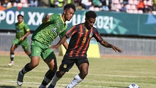 Final Sepak Bola PON: Papua Sebut Aceh Banyak Bertahan