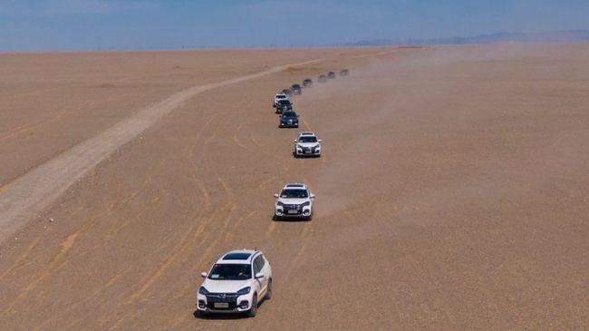 Mobil Chery menjalani serangkaian uji coba di kondisi dan medan ekstrem di sejumlah negara.