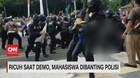 VIDEO: Ricuh Saat Demo, Mahasiswa Dibanting Polisi