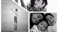 <p>Dalam satu kesempatan, Hanny juga bagikan potret Eva bersama anak kandungnya lho, Bunda. (Foto: Instagram @honlesmana)</p>