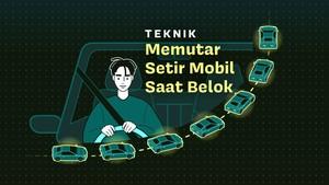 INFOGRAFIS: Teknik Memutar Setir Mobil Saat Belok