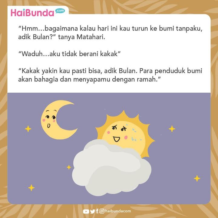 Komik Kisah Bulan dan Matahari