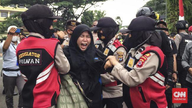 Sebanyak 18 orang massa unjuk rasa yang diamankan Polres Kota Tangerang sudah dipulangkan.
