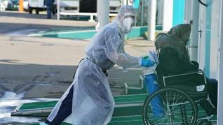 Rusia Kembali Catat Rekor Kematian Akibat Covid-19