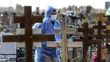 Kasus Kematian Akibat Covid Tinggi, Rusia Lockdown Lagi
