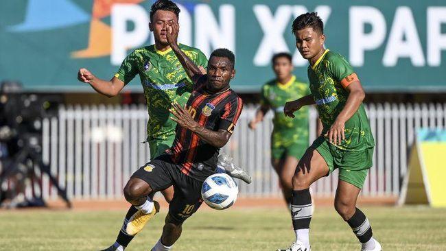 Berikut perjalanan Papua dan Aceh menuju final PON Papua 2021 yang akan digelar pada Kamis (14/10)