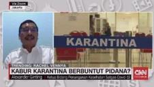 VIDEO: Kabur Karantina, Berbuntut Pidana?