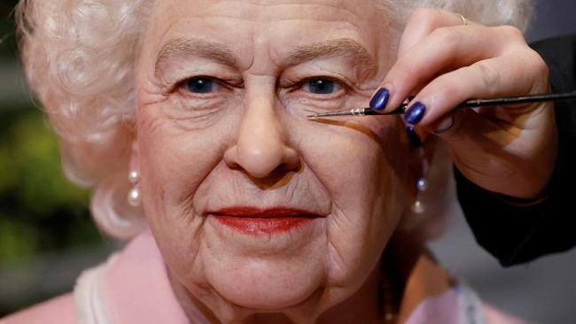 FOTO: Pembaruan Rupa Patung Lilin Ratu Inggris